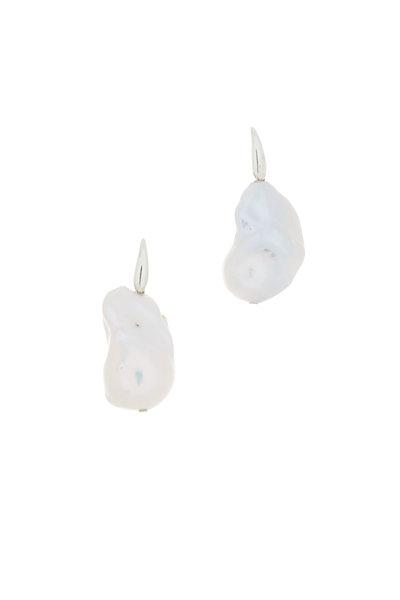 Patricia von Musulin - Sterling Silver Baroque Pearl Earrings