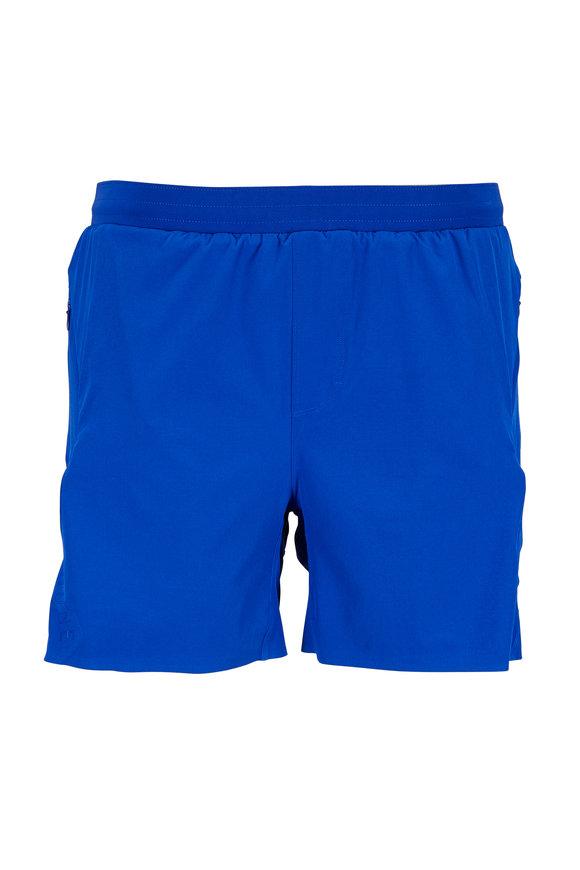 Rhone Apparel Swift Bright Blue Performance Running Shorts