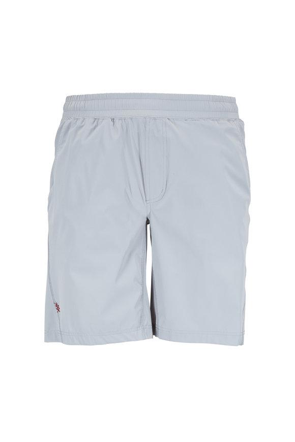 Rhone Apparel Mako Quarry Gray Nylon Performance Shorts