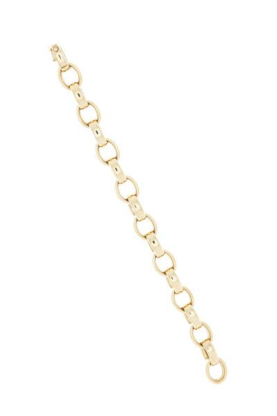 Monica Rich Kosann - Yellow Gold Large Chain Link Bracelet