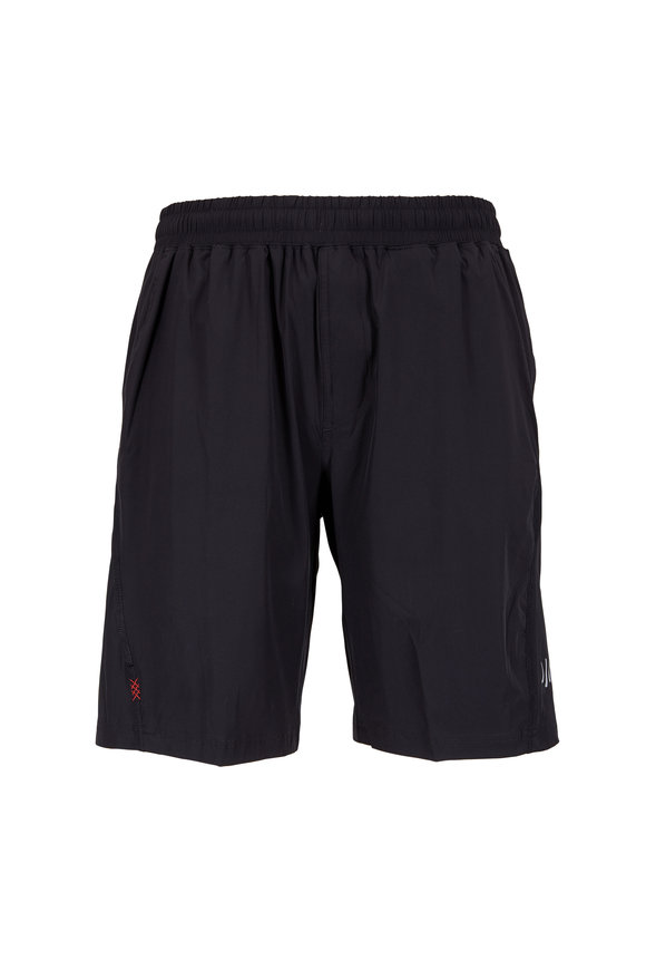 Rhone Apparel Mako Black Nylon Performance Shorts