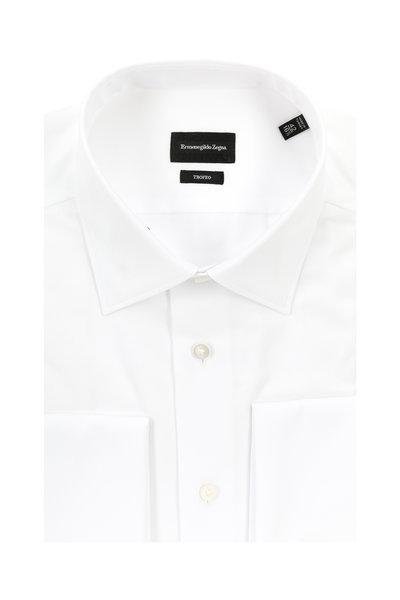 Ermenegildo Zegna - Troefo White French Cuff Dress Shirt