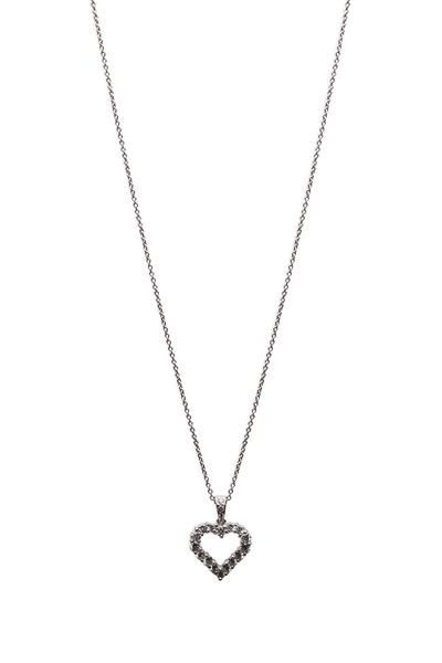 Graff - Gold Diamond Silhouette Heart Shape Pendant