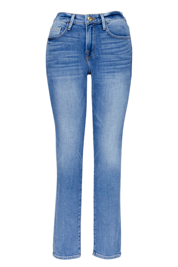 Frame Le Boy Mid-Rise Straight Fit Jean