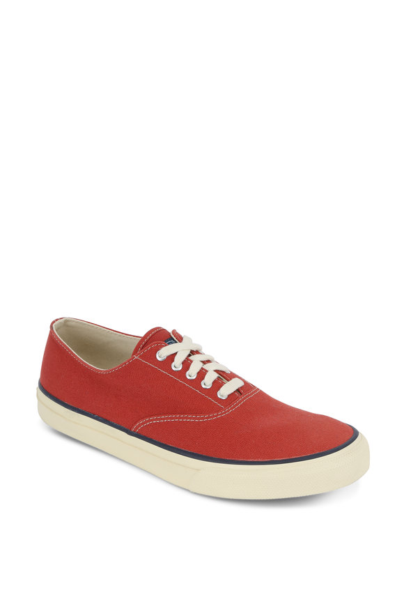 Sperry CVO Red Canvas Sneaker