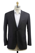 Oxxford Clothes - Capitol Gray Nailhead Wool Suit
