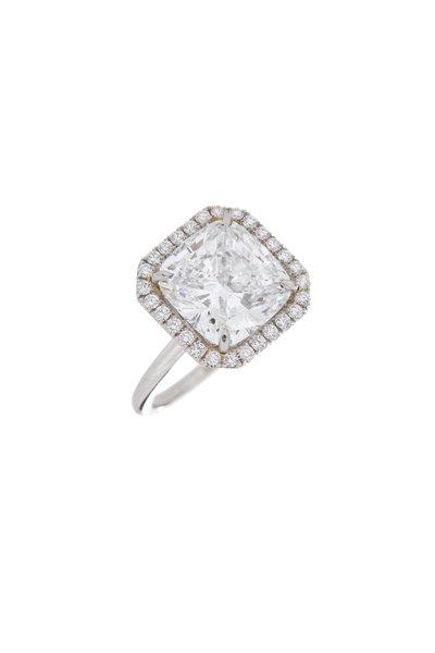 Louis Newman - Square Diamond Ring
