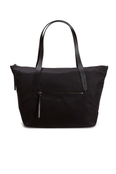 Cole Haan - Parker Black Nylon Large Zip Tote