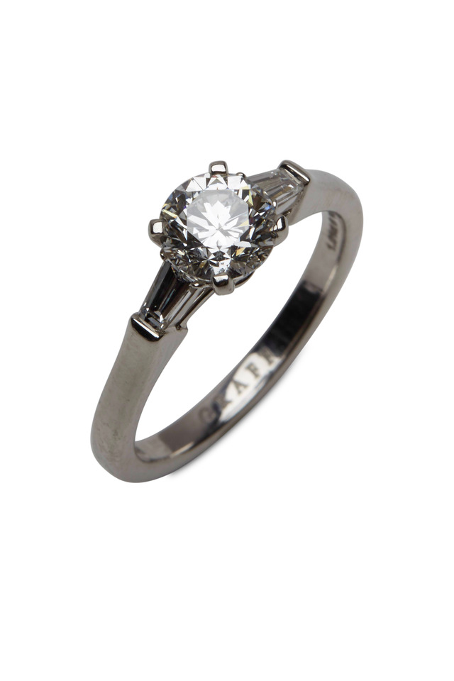 Platinum White Diamond Ring