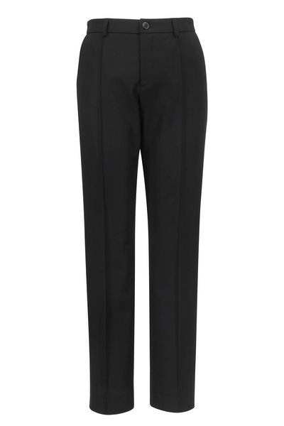 Bogner - Abbie Black Stretch Cotton Ankle Pant