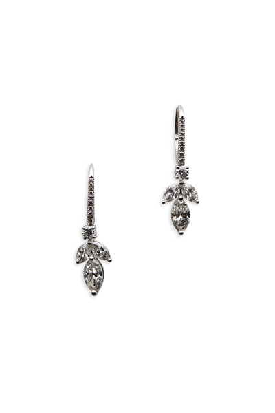 Graff - Platinum White Diamond Earrings