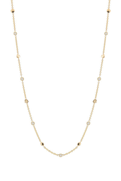 Paolo Costagli - 18K Yellow Gold Diamond Brilliante Chain