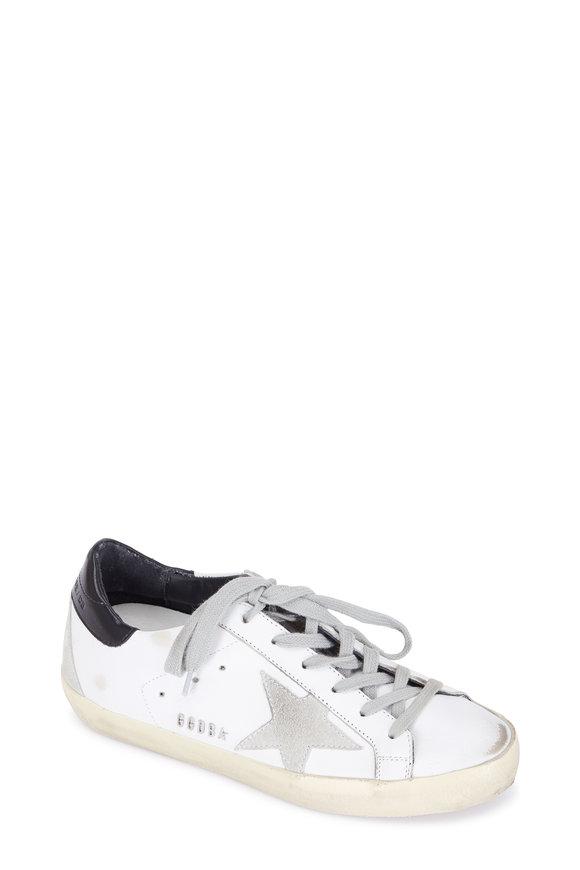 Golden Goose Women's Superstar White Leather Low Top Sneaker