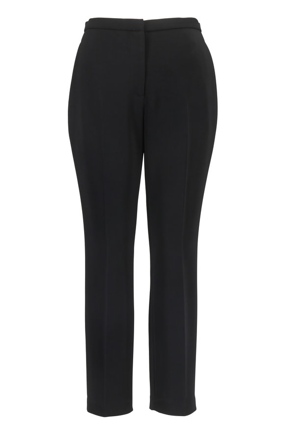 Rosetta Getty Black Slim Cropped Pant