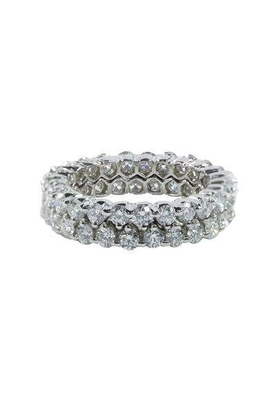 Oscar Heyman - Platinum Diamond Ring
