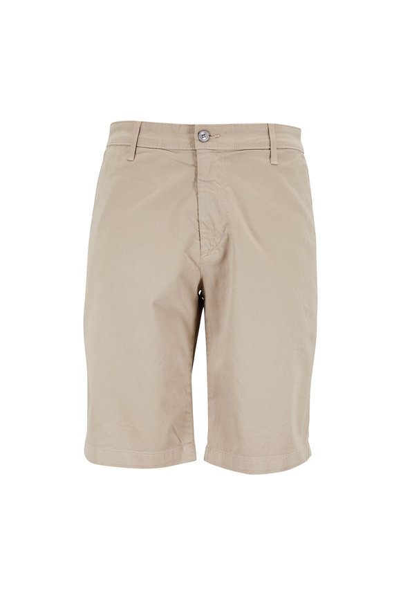 AG - Adriano Goldschmied The Griffin Desert Stone Stretch Tailored Shorts