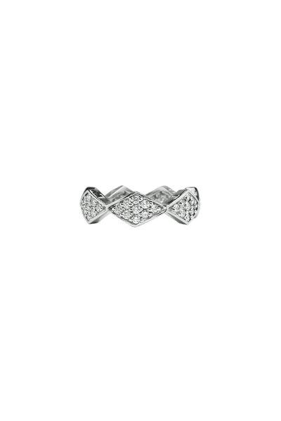 Paolo Costagli - 18K White Gold Diamond Brilliante Star Ring
