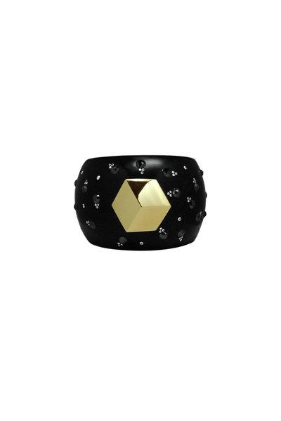 Paolo Costagli - Ebony Black & White Diamond Brilliante Cuff