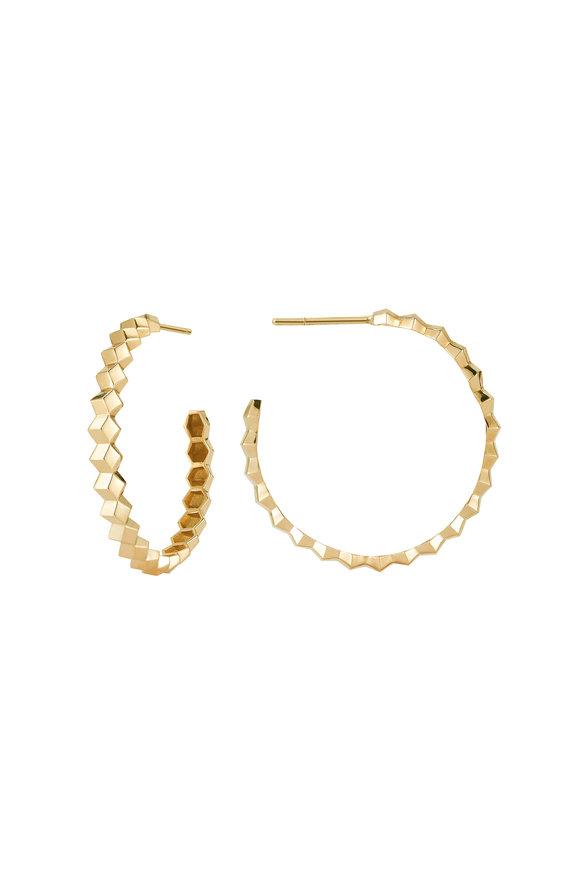 Paolo Costagli Yellow Gold Brilliante Hoops