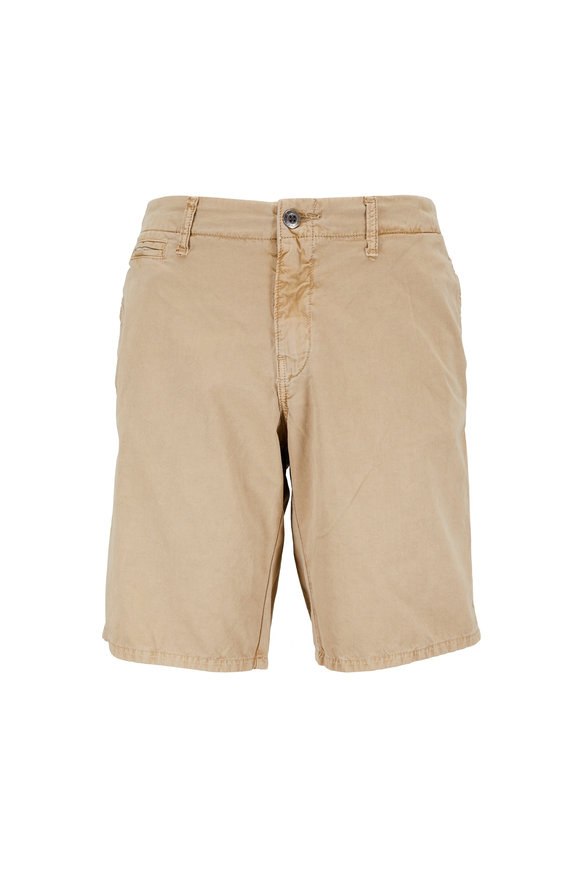 Original Paperbacks St. Barts Khaki Corded Cotton Shorts