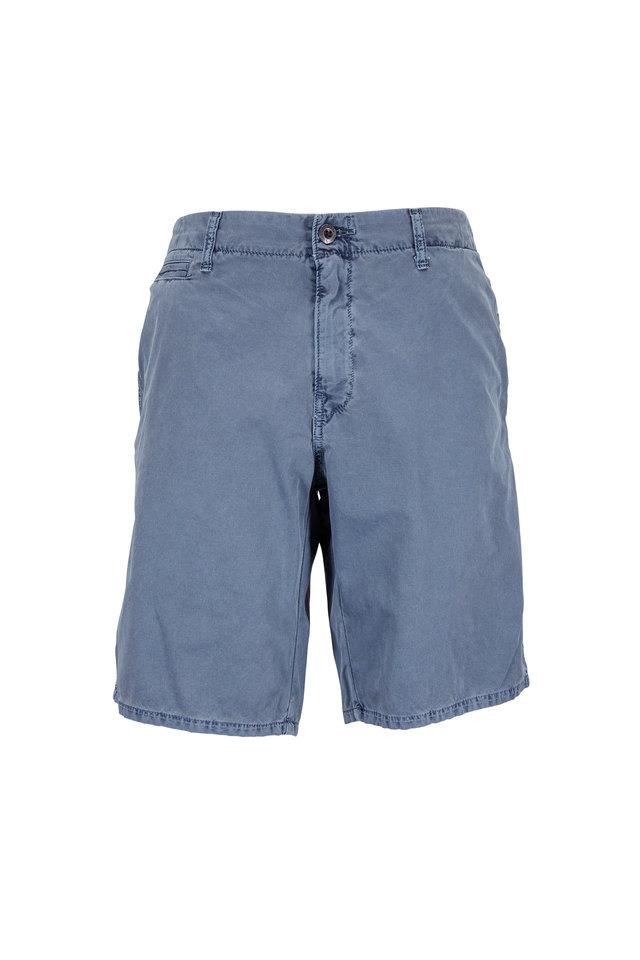 St. Barts Slate Corded Cotton Shorts