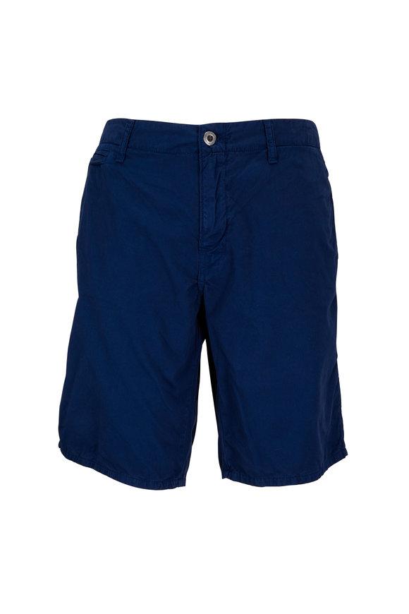 Original Paperbacks St. Barts Indigo Corded Cotton Shorts