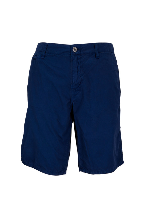 Original Paperbacks St. Barts Indigo Corded Cotton Shorts