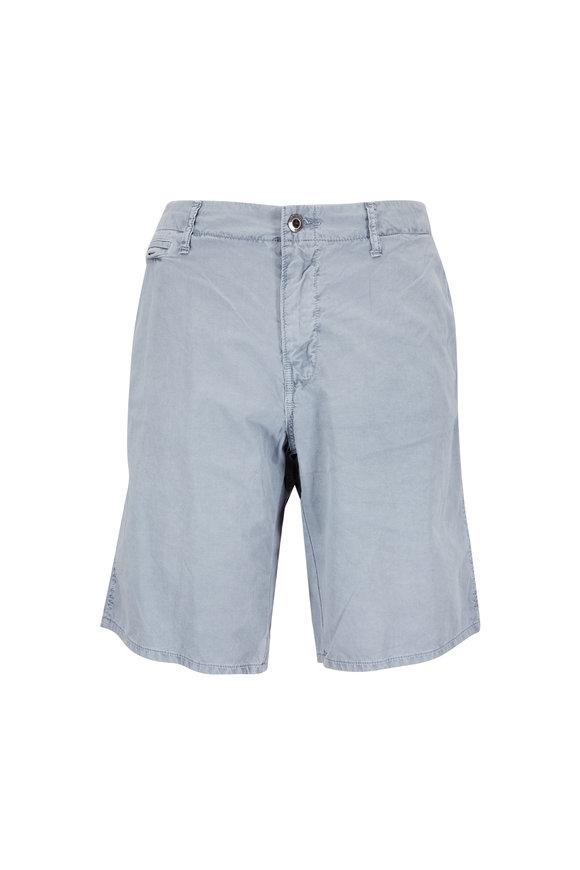 Original Paperbacks St. Barts Light Gray Corded Cotton Shorts