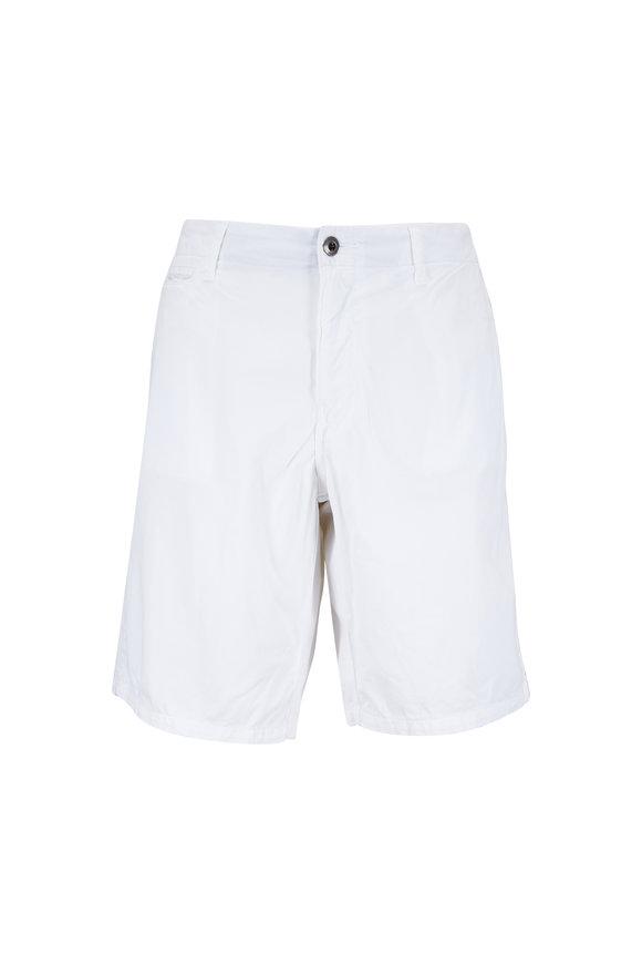 Original Paperbacks St. Barths White Corded Cotton Shorts