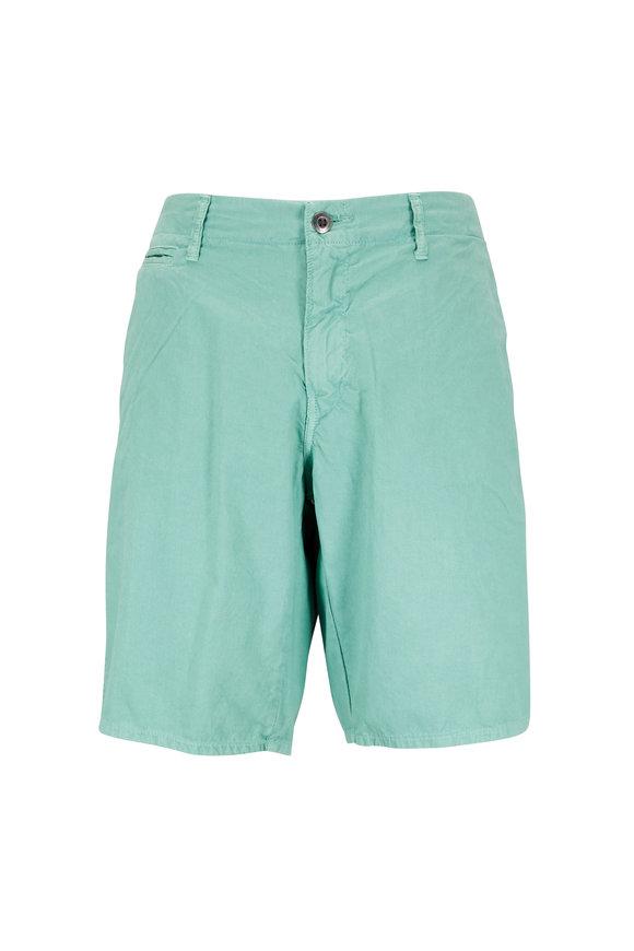Original Paperbacks St. Barts Seafoam Corded Cotton Shorts