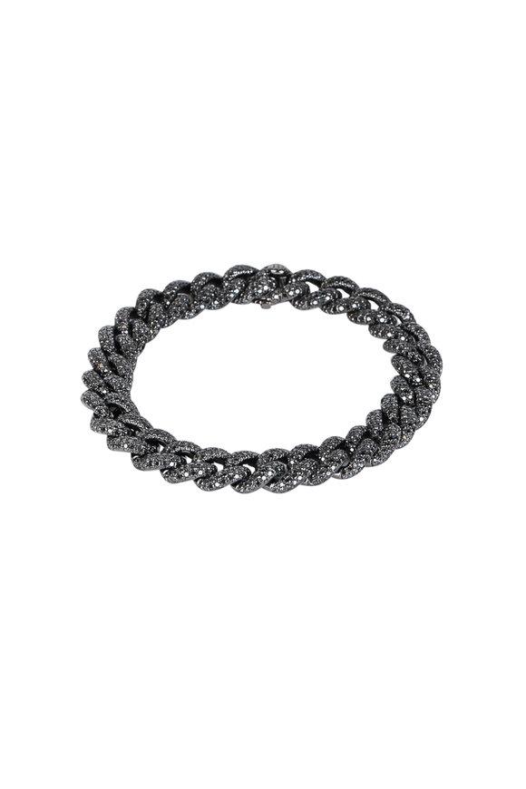 Kai Linz Black Diamond Chain Bracelet