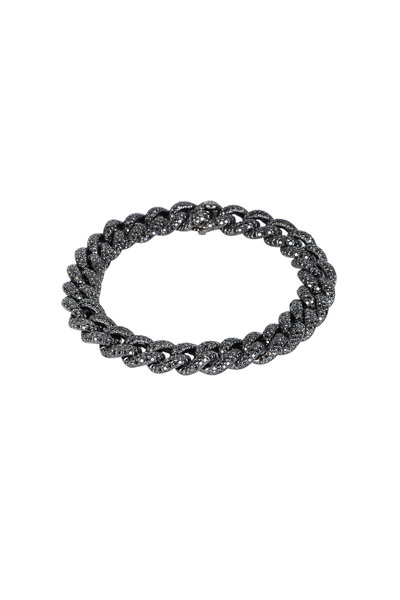 Kai Linz - Black Diamond Chain Bracelet