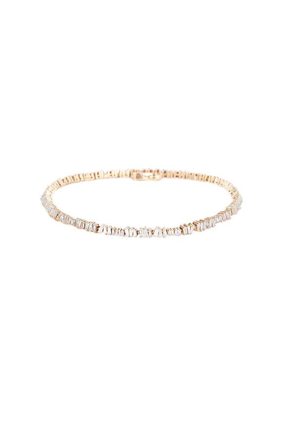 Kai Linz Rose Gold Diamond Bracelet