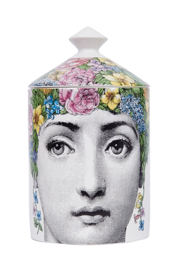 Fornasetti Flora Scented Candle, 10.5oz