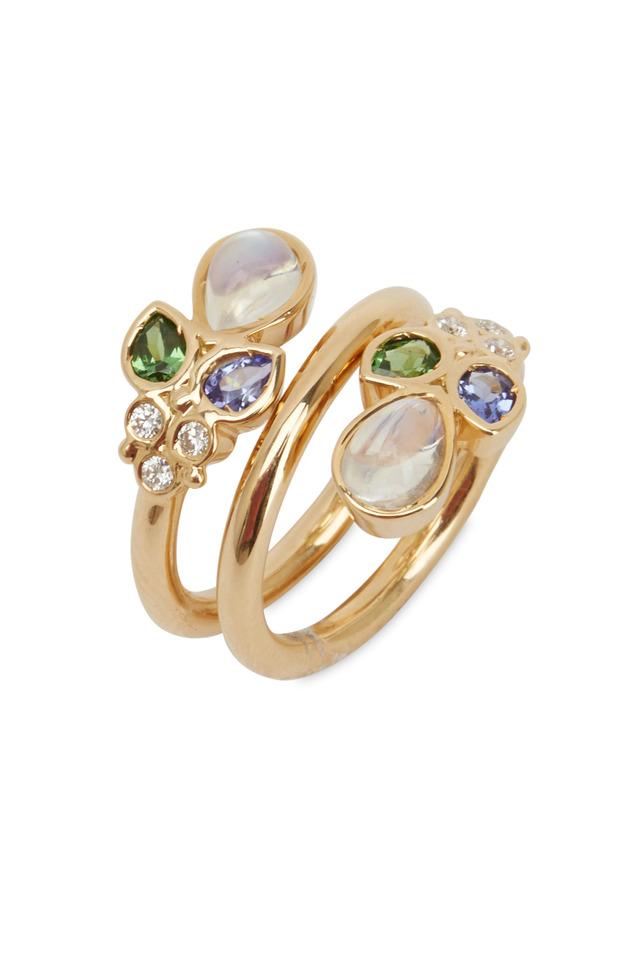 Anima Mummy Yellow Gold Gemstone Ring