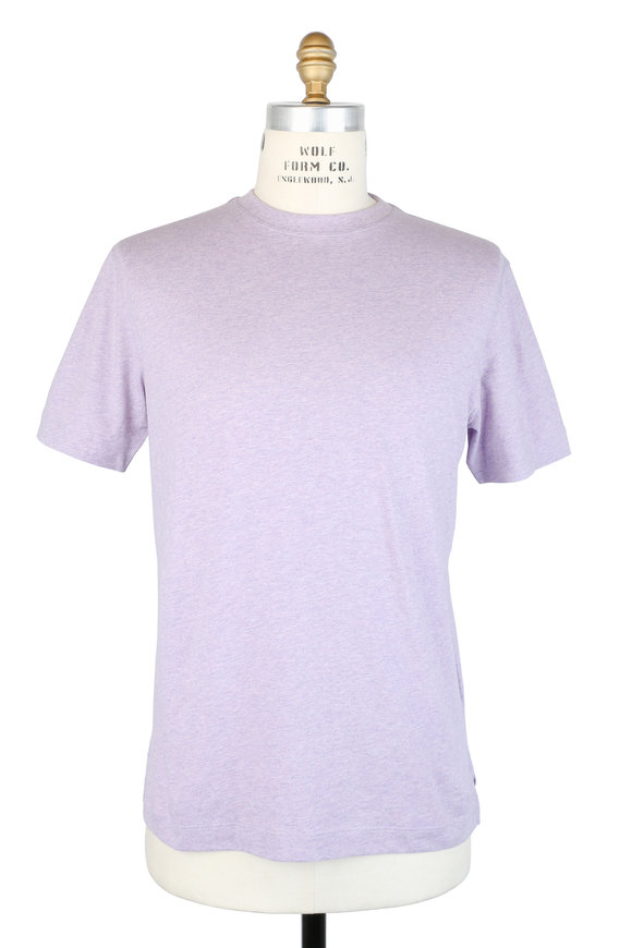 Left Coast Tee Lilac Crewneck T-Shirt