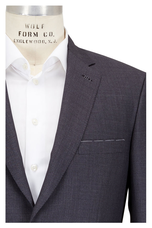 Brioni Charcoal Gray Wool Blend Suit