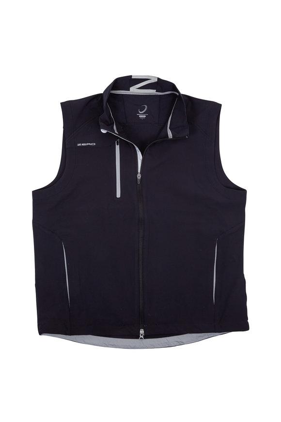 Zero Restriction  Z550 Black & Silver Moisture Wicking Tech Vest
