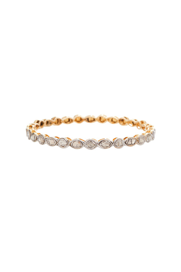 B. Coplan Rose Gold Diamond Bangle