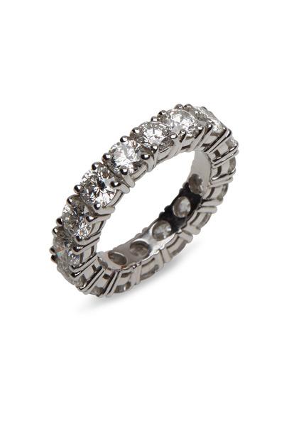 Graff - Platinum White Diamond Eternity Ring