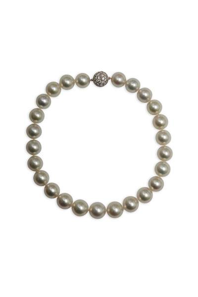 Assael - South Sea Cultured Pearl & Diamond Necklace