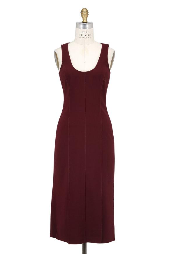 Elizabeth & James Mireille Boysenberry Scoop Neck Sleeveless Dress