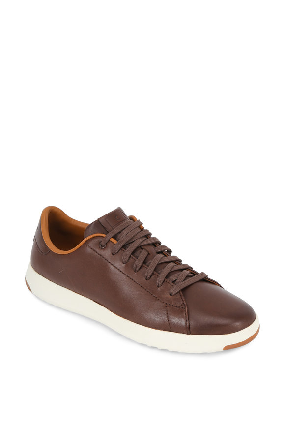 Cole Haan Grandpro Tennis Chestnut Leather Sneaker