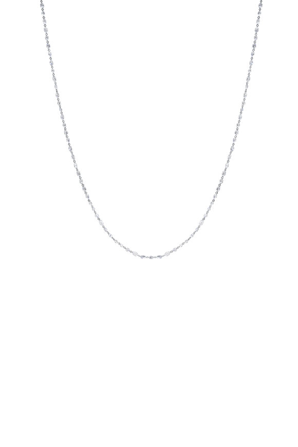 Paul Morelli 18K White Gold Diamond Necklace