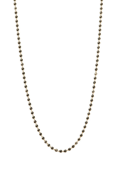 Syna - Baubles Gold Black & Champagne Diamond Necklace