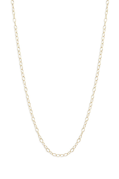 Syna - Yellow Gold Thick Link Chain Necklace