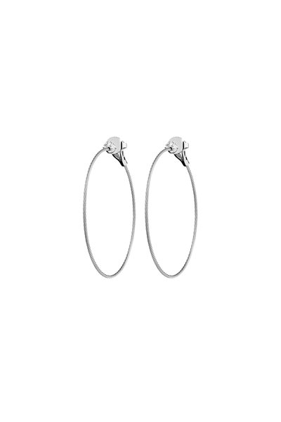 Paul Morelli - Wire Hoop Earring