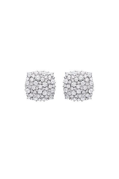 Paul Morelli - 18K White Gold Diamond Confetti Earrings