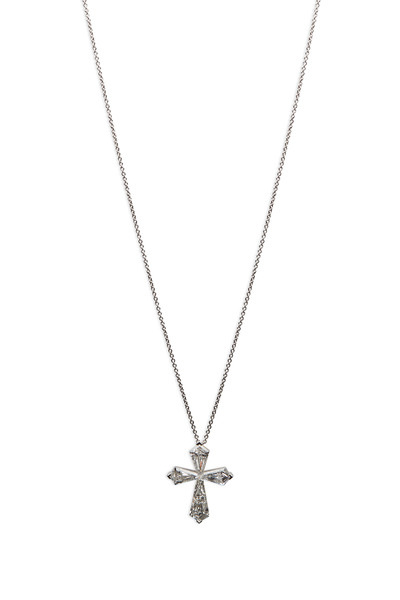 Graff - White Gold Trapezoid Diamond Cross Pendant