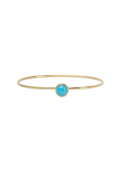 Syna - Baubles Yellow Gold Turquoise Stack Bracelet